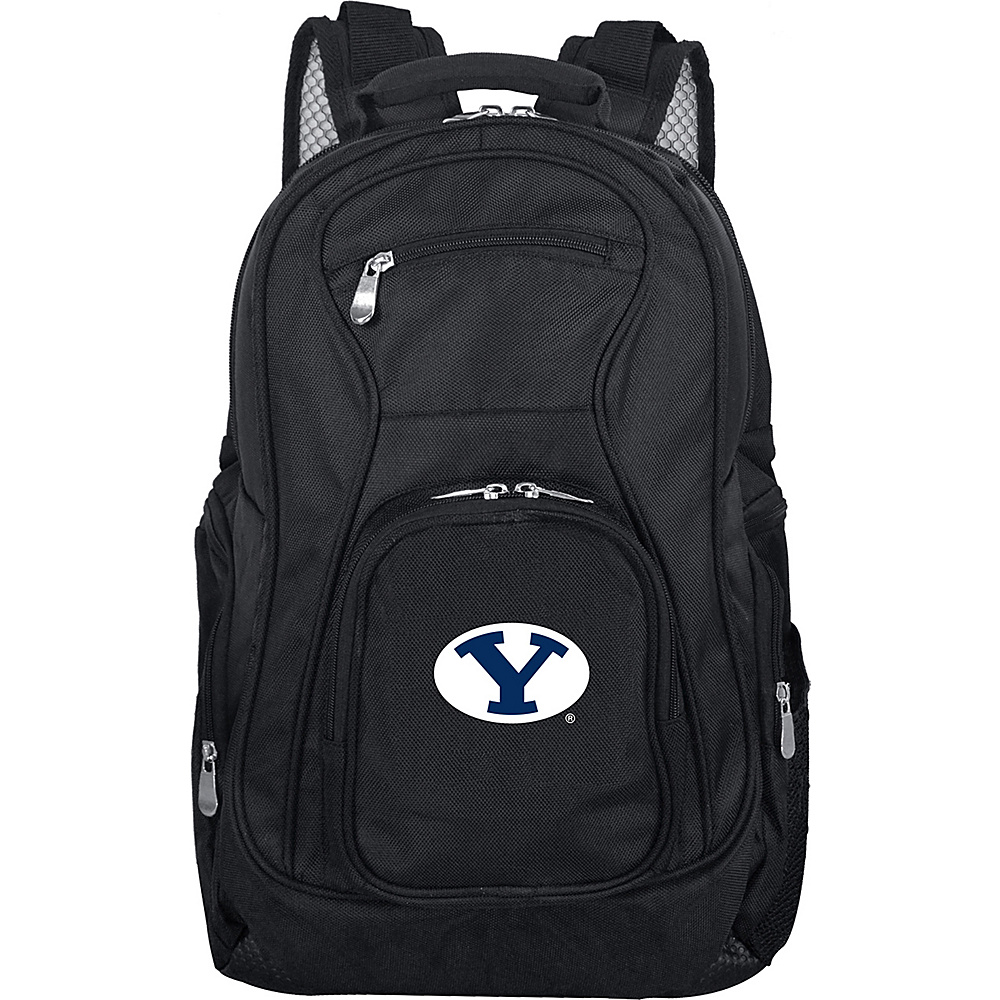 Denco Sports Luggage NCAA 19 Laptop Backpack Brigham Young University Cougars - Denco Sports Luggage Business & Laptop Backpacks - Backpacks, Business & Laptop Backpacks