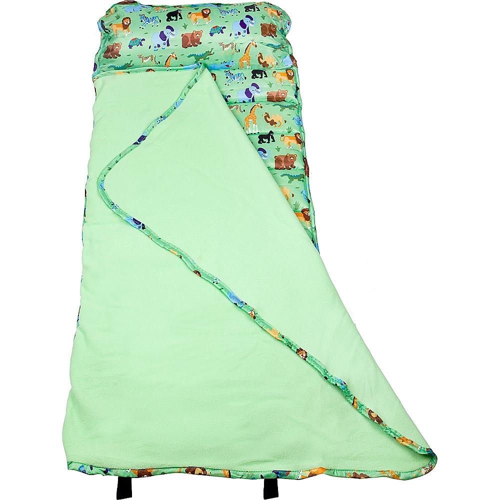 Wildkin Olive Kids Wild Animals Easy Clean Nap Mat Wild Animals Wildkin Travel Pillows Blankets