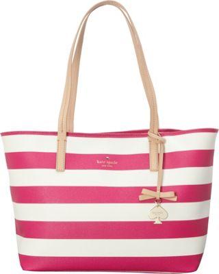 kate spade new york Hawthorne Lane Ryan Tote Bag Sweetheart Pink/Cream - kate spade new york Designer Handbags