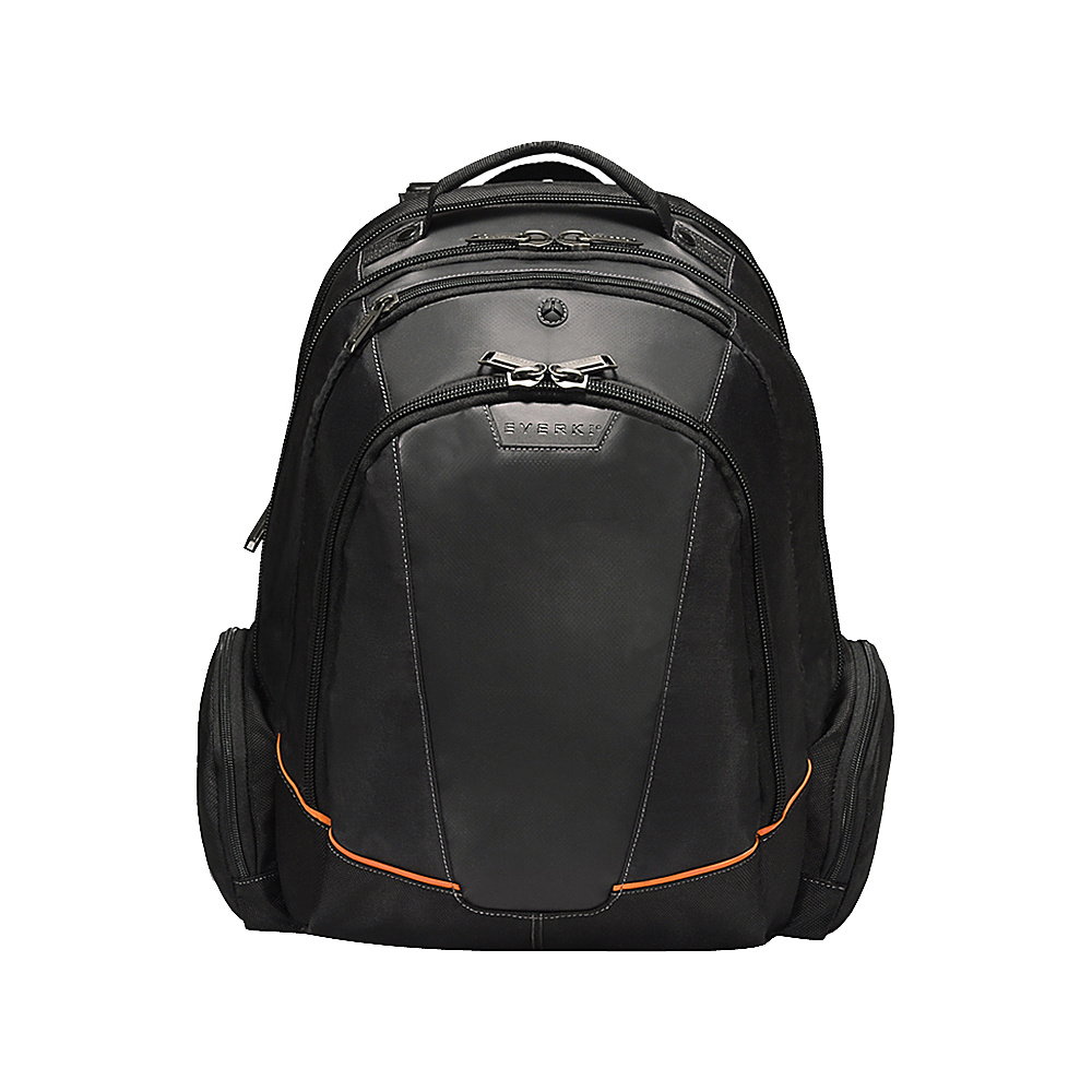 Everki Flight Checkpoint Friendly 16 Laptop Backpack Black Everki Business Laptop Backpacks