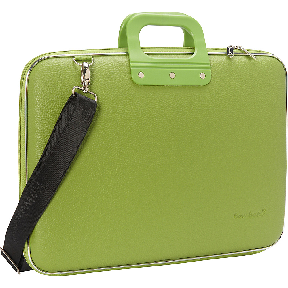 Bombata Maxi 17 inch Laptop Bag Green Bombata Non Wheeled Business Cases