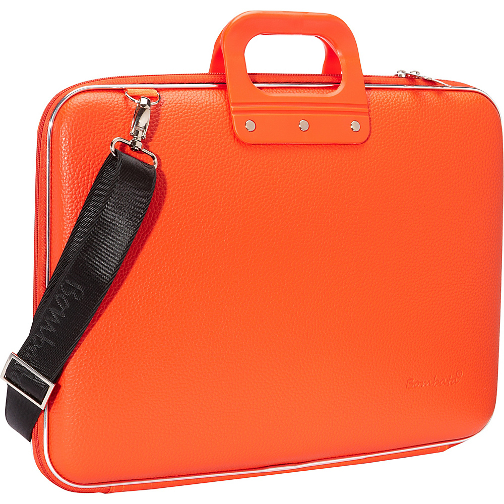 Bombata Maxi 17 inch Laptop Bag Orange Bombata Non Wheeled Business Cases