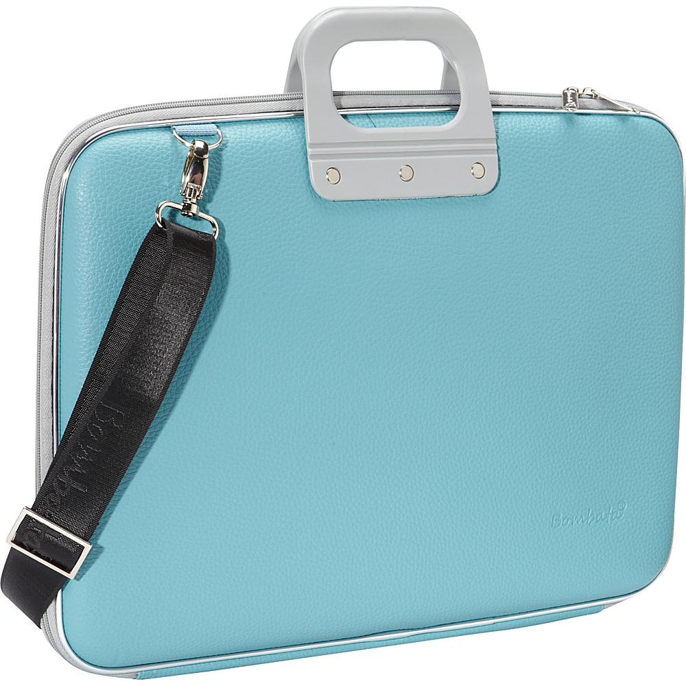 Bombata Maxi 17 inch Laptop Bag Turquoise Bombata Non Wheeled Business Cases