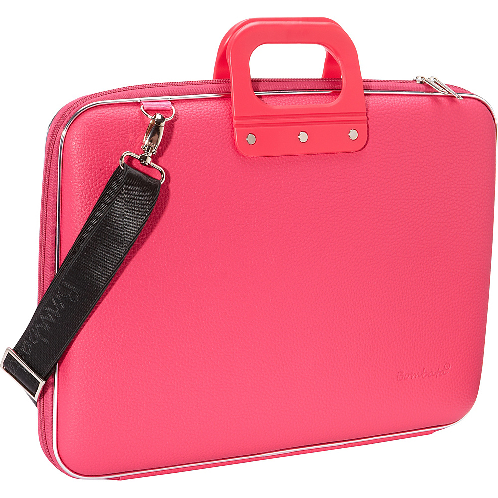 Bombata Maxi 17 inch Laptop Bag Pink Bombata Non Wheeled Business Cases