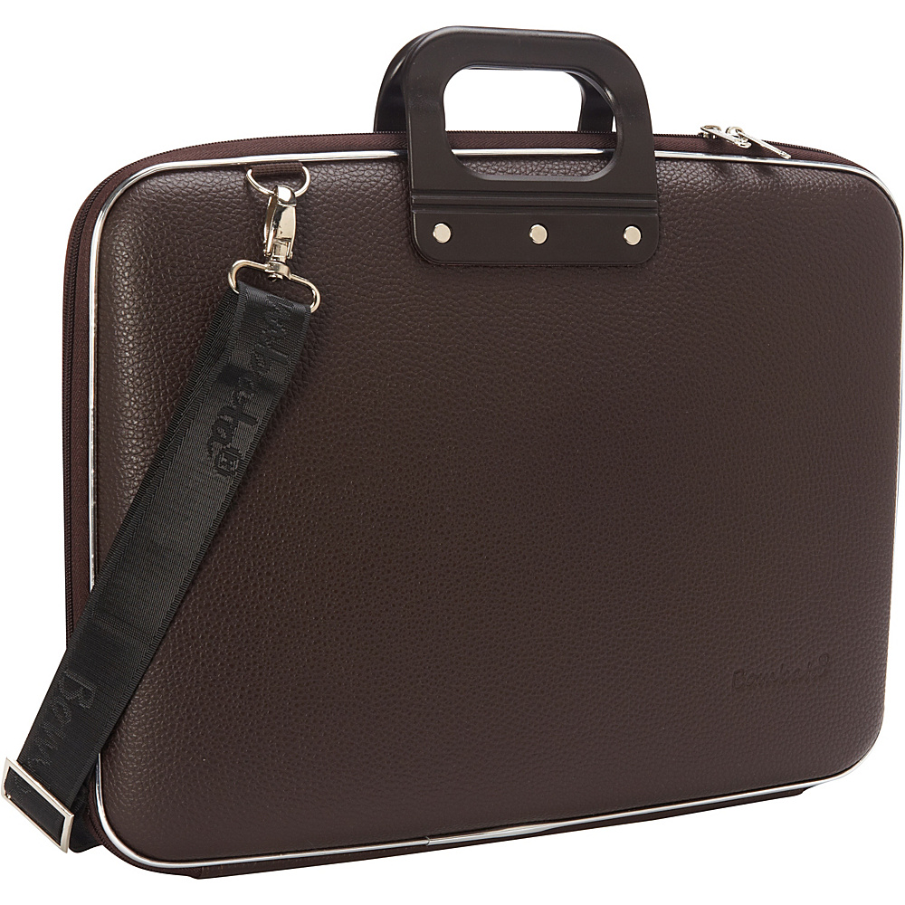 Bombata Maxi 17 inch Laptop Bag Brown Bombata Non Wheeled Business Cases