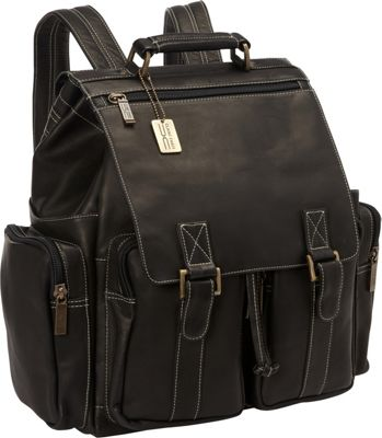 ClaireChase Laptop and Tablet Backpack Black - ClaireChase Business & Laptop Backpacks
