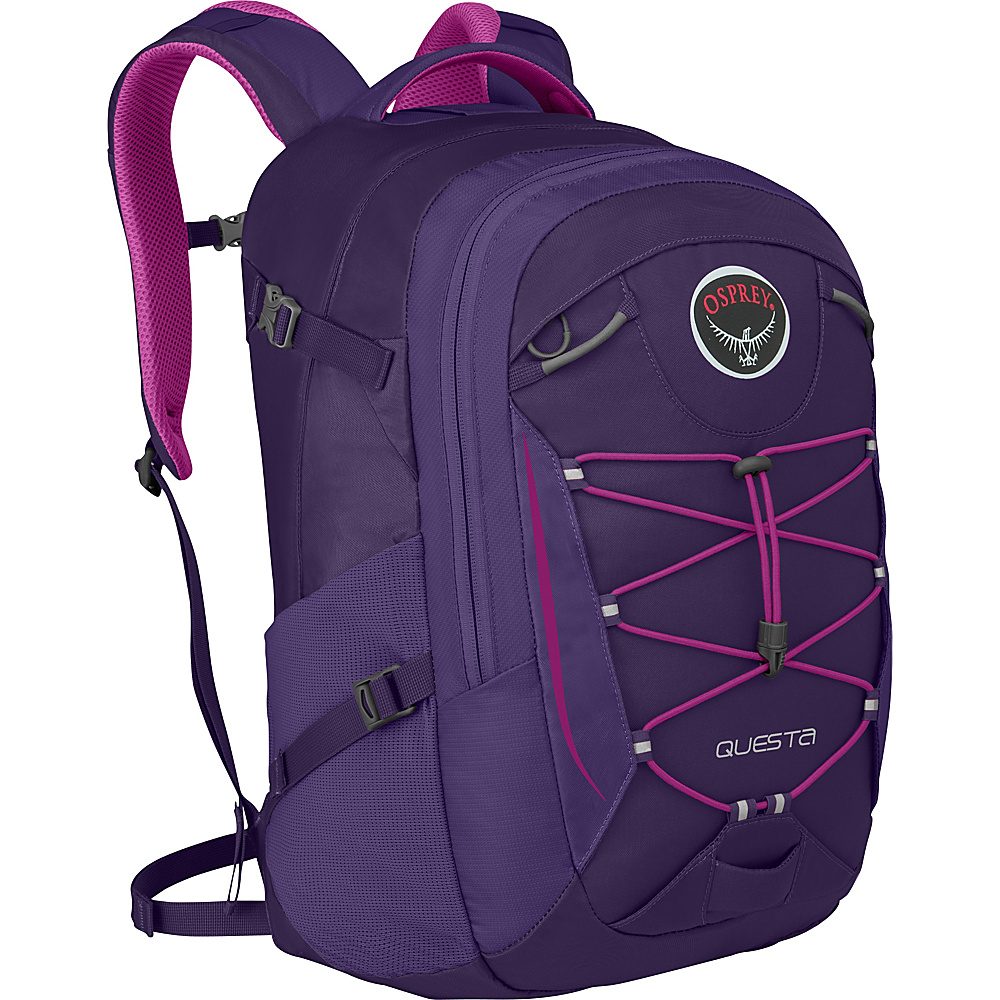 Osprey Questa Laptop Backpack Mariposa Purple - Osprey Business & Laptop Backpacks - Backpacks, Business & Laptop Backpacks