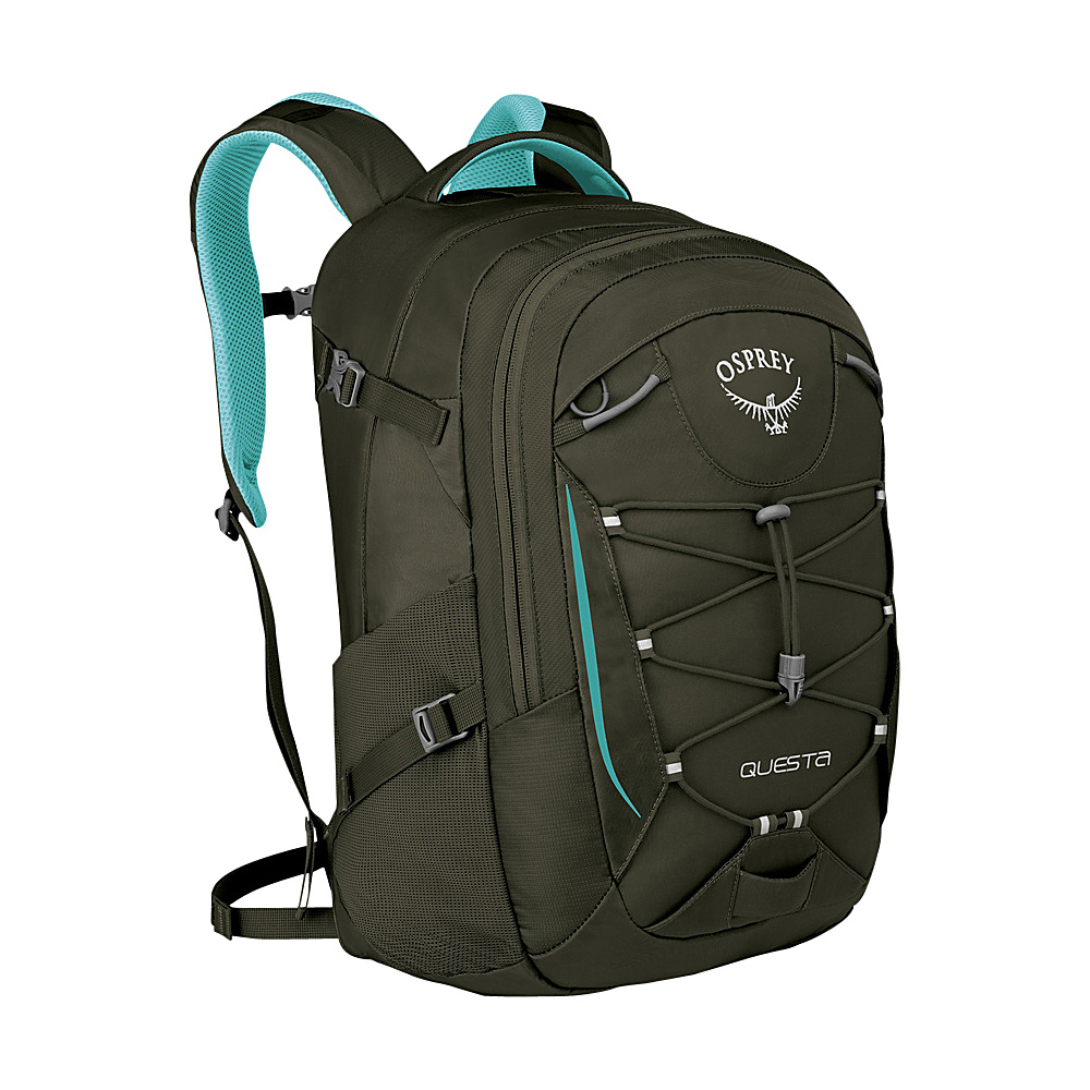 Osprey Questa Laptop Backpack Liquid Blue - Osprey Business & Laptop Backpacks - Backpacks, Business & Laptop Backpacks
