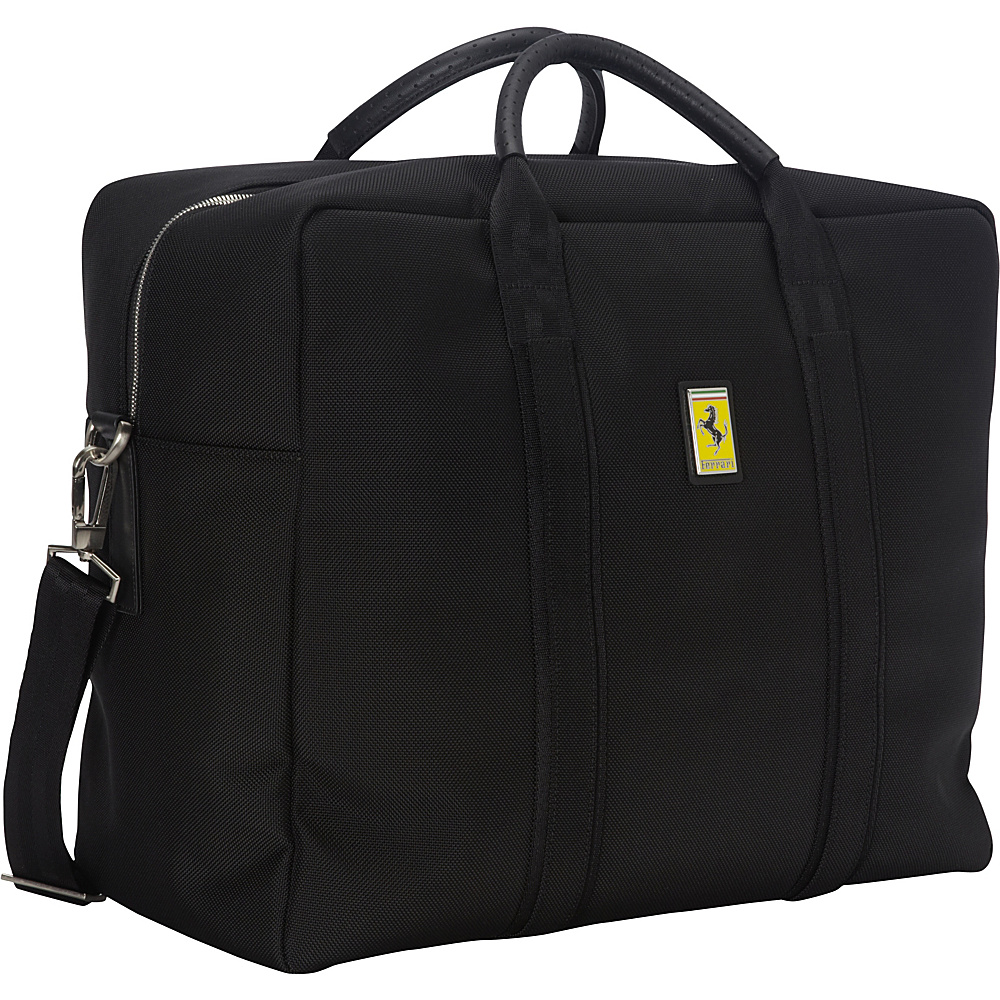 Ferrari Luxury Collection Utility Travel Bag Satchel Blacks - Ferrari Luxury Collection Luggage Totes and Satchels