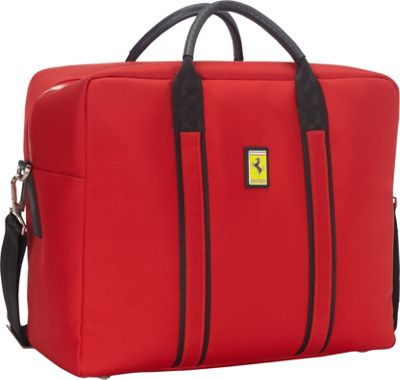 Ferrari Luxury Collection Utility Travel Bag Satchel Reds - Ferrari Luxury Collection Luggage Totes and Satchels