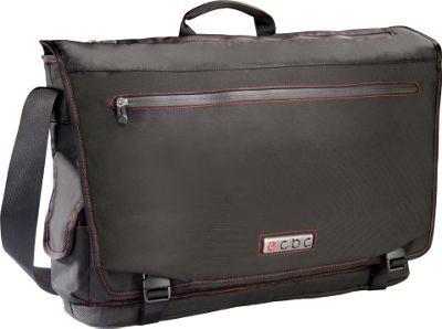 ecbc Trident Messenger Black - ecbc Messenger Bags