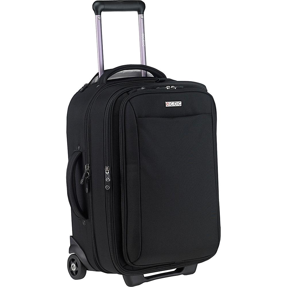 ecbc Sparrow Wheeled Garment Bag Black - ecbc Garment Bags