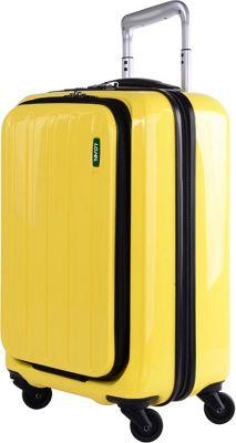 Lojel Lucid Carry-On Luggage Yellow - Lojel Hardside Carry-On