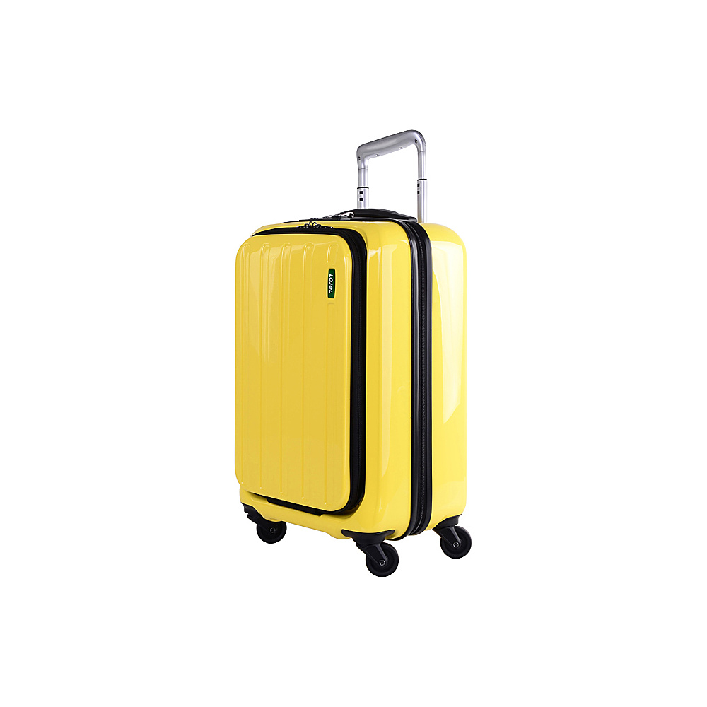 Lojel Lucid Carry On Luggage Yellow Lojel Hardside Carry On
