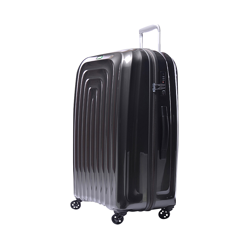 Lojel Wave Large Luggage Gray Lojel Hardside Checked
