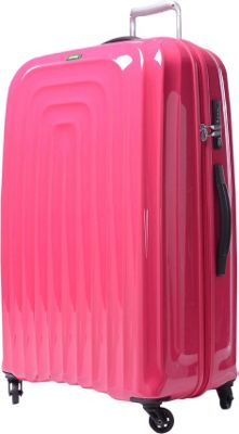 Lojel Wave Large Luggage Pink - Lojel Large Rolling Luggage