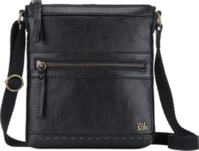 The Sak Pax Swing Pack Crossbody Bag Black Onyx - The Sak Leather Handbags