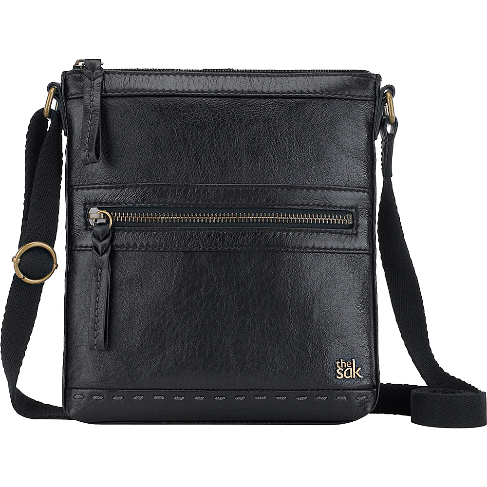 The Sak Pax Swing Pack Crossbody Bag Black Onyx The Sak Leather Handbags