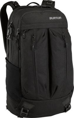 Burton Bravo Pack True Black Heather Twill - Burton Business & Laptop Backpacks