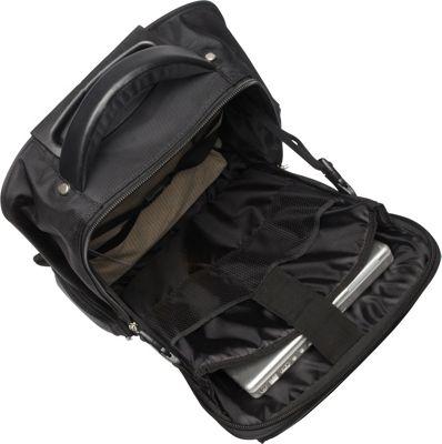 Bugatti Rolling 15 inch Laptop Backpack Black - Bugatti Rolling Backpacks