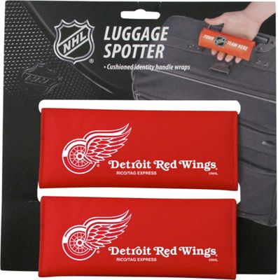 Luggage Spotters NHL Detroit Red Wings Luggage Spotter Red - Luggage Spotters Luggage Accessories
