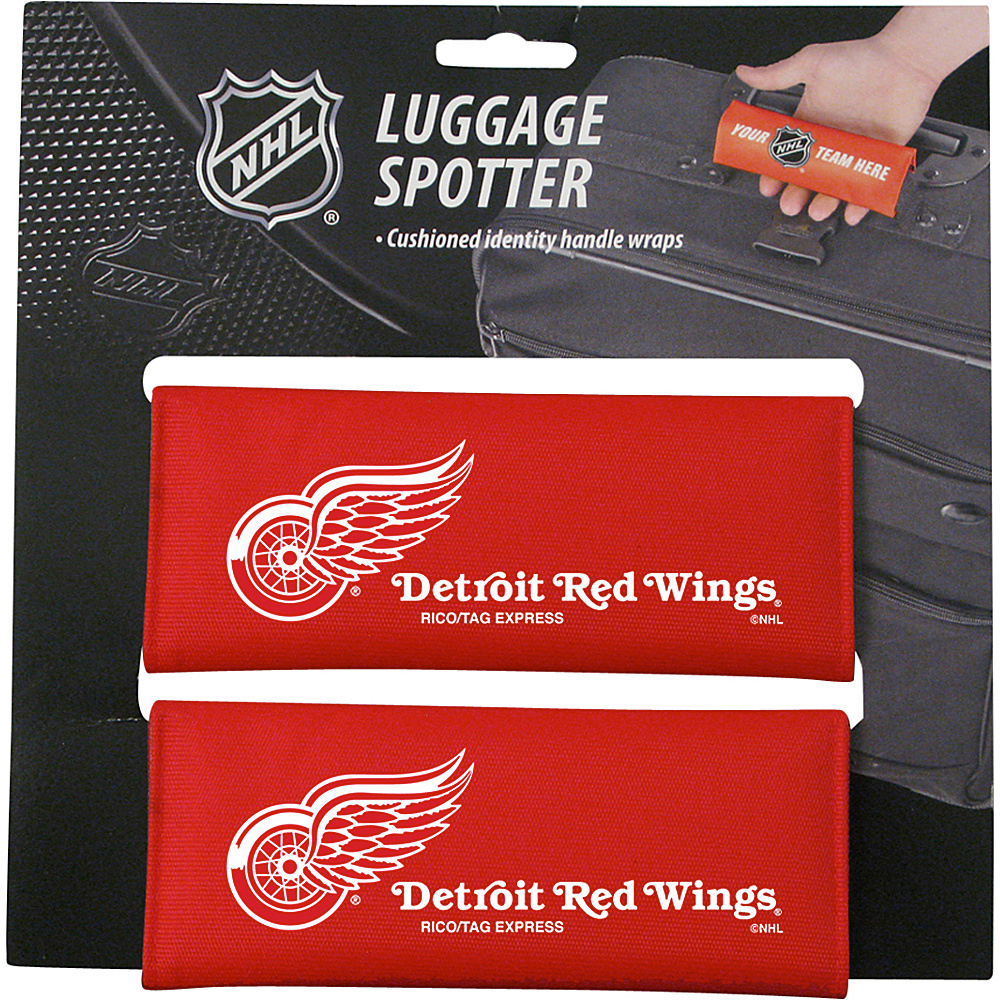 Luggage Spotters NHL Detroit Red Wings Luggage Spotter Red Luggage Spotters Luggage Accessories
