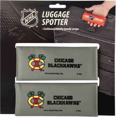 Luggage Spotters NHL Chicago Blackhawks Luggage Spotter Gray - Luggage Spotters Luggage Accessories