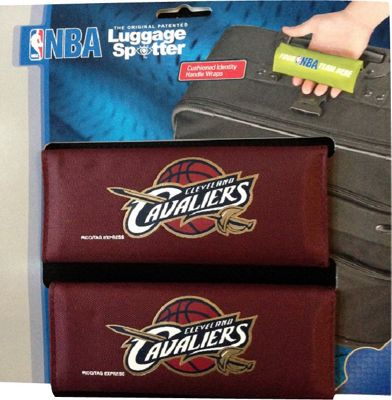Luggage Spotters Luggage Spotters NBA Cleveland Cavaliers Luggage Spotter Red - Luggage Spotters Luggage Accessories