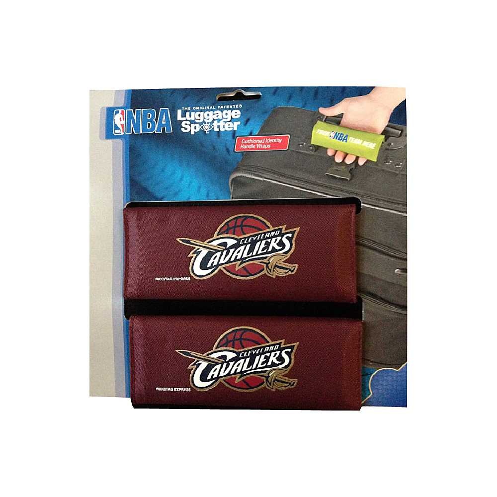 Luggage Spotters NBA Cleveland Cavaliers Luggage Spotter Red Luggage Spotters Luggage Accessories
