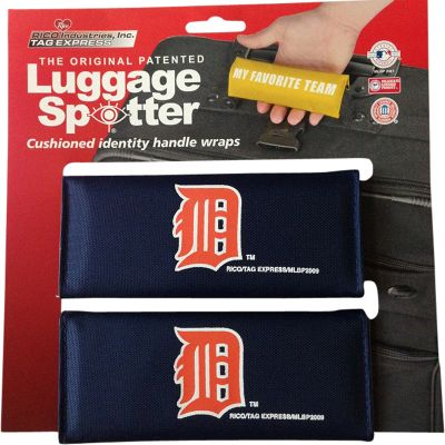 Luggage Spotters MLB Detroit Tigers Luggage Spotter Blue - Luggage Spotters Luggage Accessories