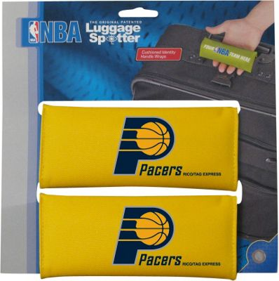 Luggage Spotters NBA Indiana Pacers Luggage Spotter Yellow - Luggage Spotters Luggage Accessories