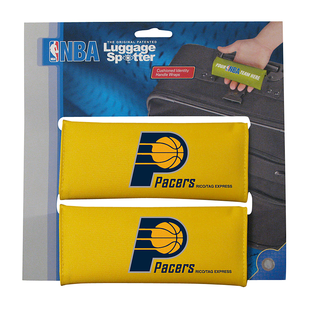 Luggage Spotters NBA Indiana Pacers Luggage Spotter Yellow Luggage Spotters Luggage Accessories