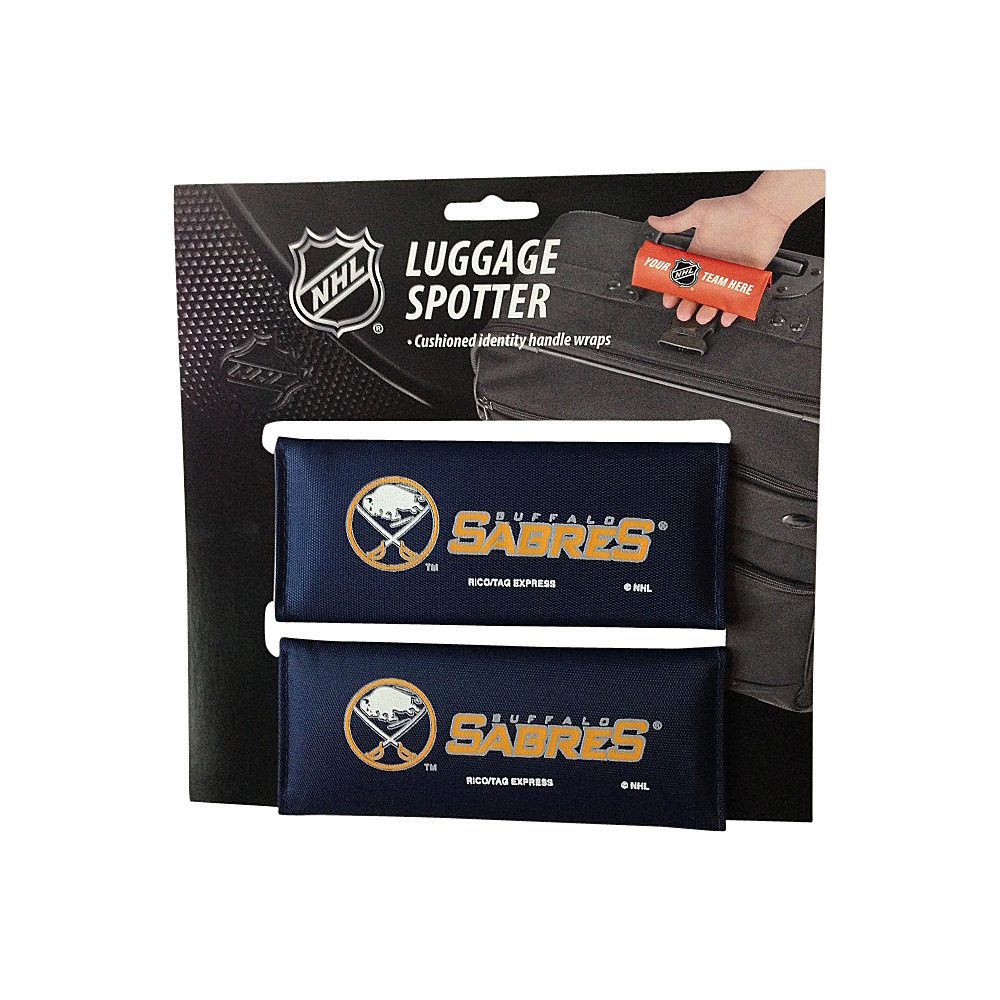 Luggage Spotters NHL Buffalo Sabres Luggage Spotter Blue Luggage Spotters Luggage Accessories
