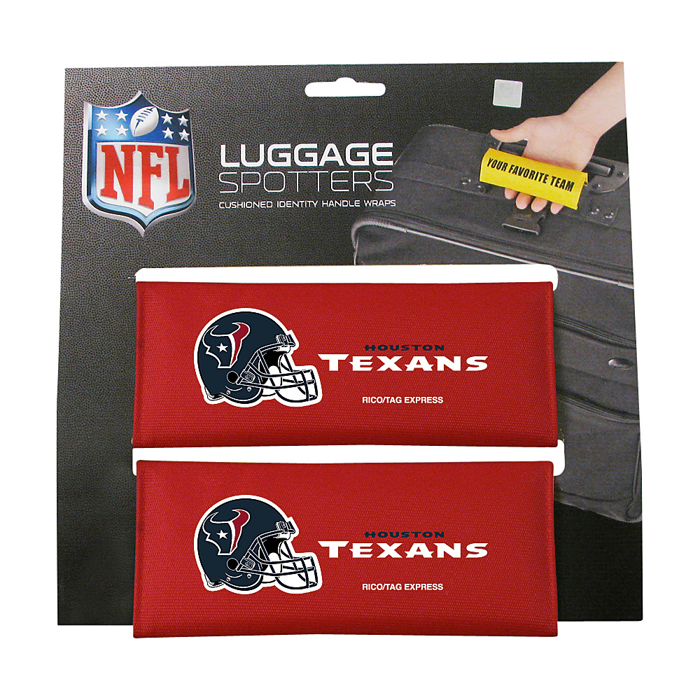 Luggage Spotters NFL Houston Texans Luggage Spotter Red Luggage Spotters Luggage Accessories