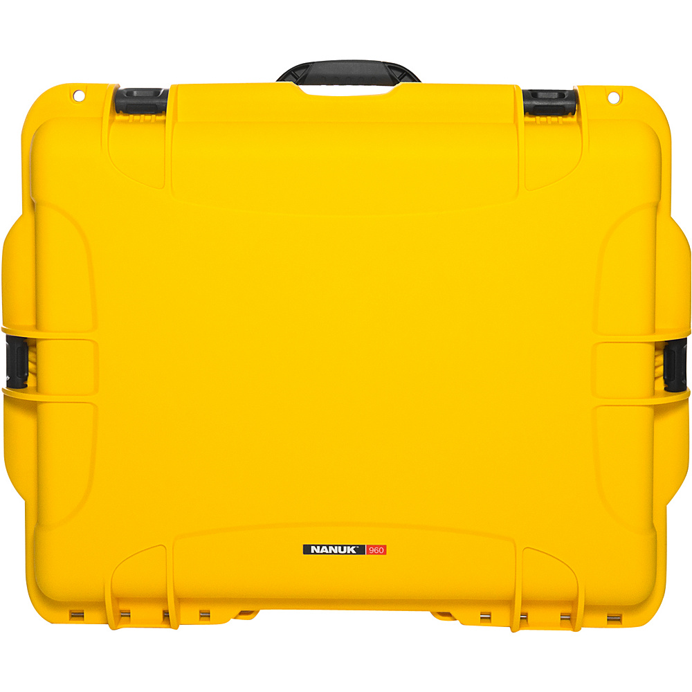 NANUK 960 Case With Foam Yellow NANUK Hardside Checked