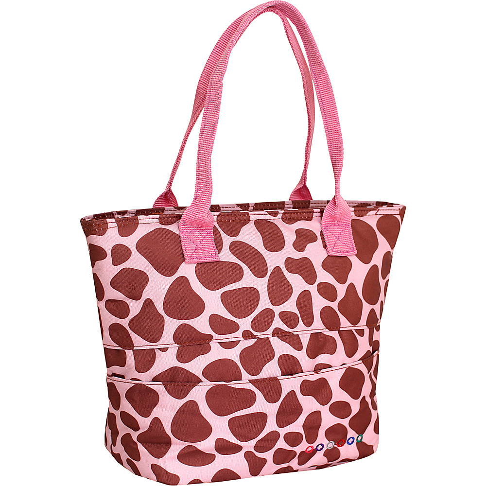 J World New York Lola Insulated Lunch Tote PINK ZULU J World New York Travel Coolers