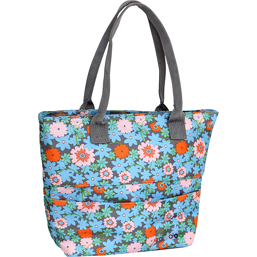 J World New York Lola Insulated Lunch Tote BLOSSOM J World New York Travel Coolers
