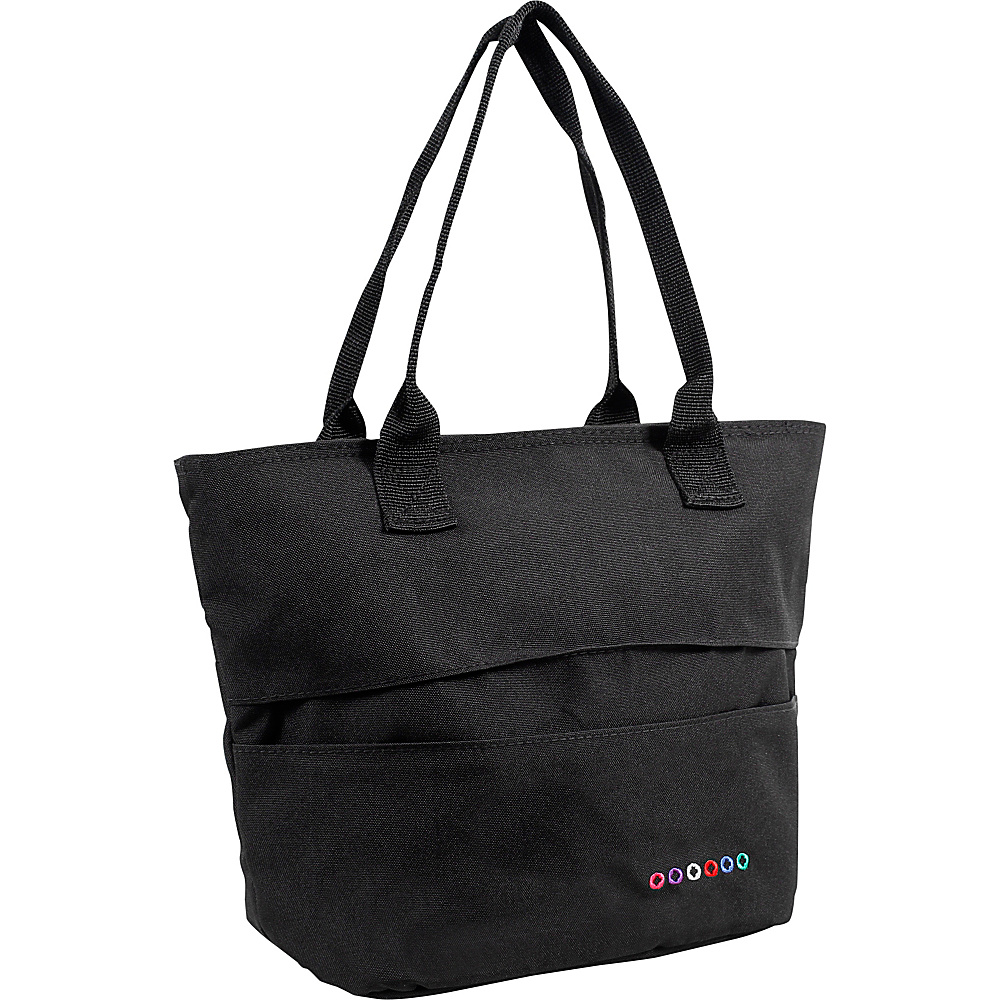 J World New York Lola Insulated Lunch Tote Black - J World New York Travel Coolers - Travel Accessories, Travel Coolers