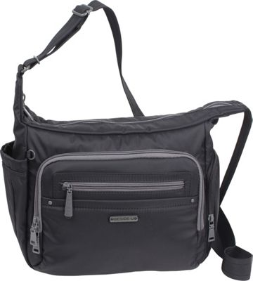 Image of Beside-U Dallas Hobo Black - Beside-U Fabric Handbags