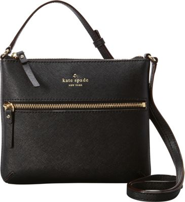 kate spade new york Cedar Street Tenley Crossbody Black - kate spade new york Designer Handbags