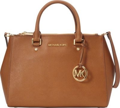 MICHAEL Michael Kors Sutton Medium Satchel Luggage - MICHAEL Michael Kors Designer Handbags