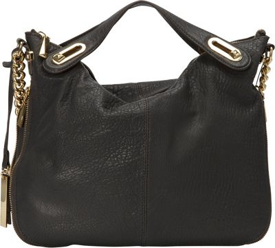 Vince Camuto Clair Satchel Slate - Vince Camuto Designer Handbags