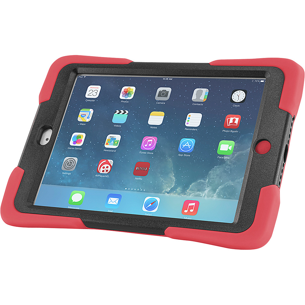 Devicewear Caseiopeia Keepsafe Kick for iPad Mini Red Devicewear Electronic Cases