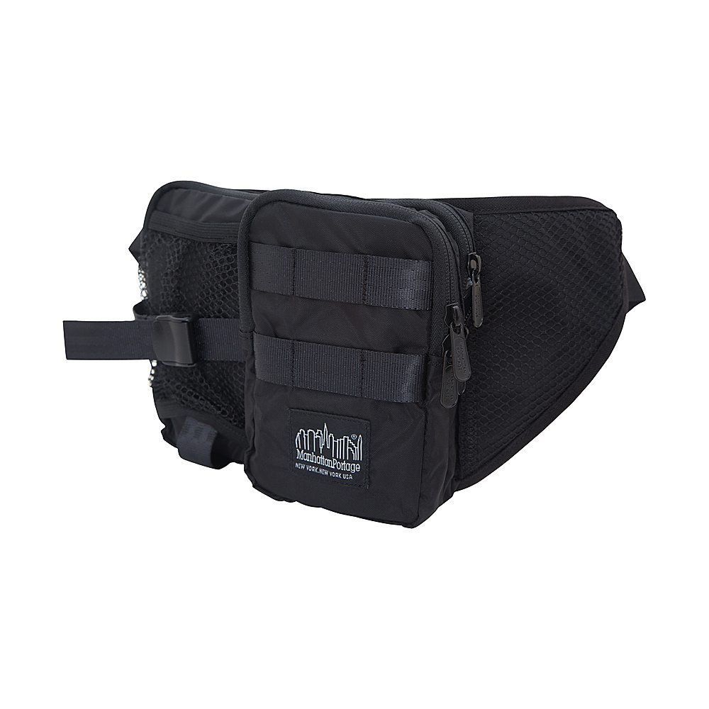 Manhattan Portage Echelon Waist Bag Black - Manhattan Portage Waist Packs - Backpacks, Waist Packs