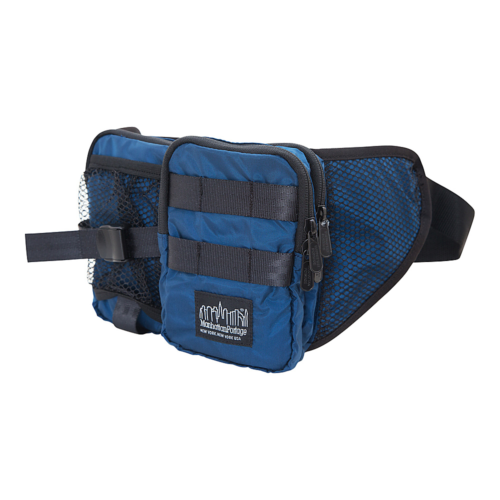 Manhattan Portage Echelon Waist Bag Navy - Manhattan Portage Waist Packs - Backpacks, Waist Packs