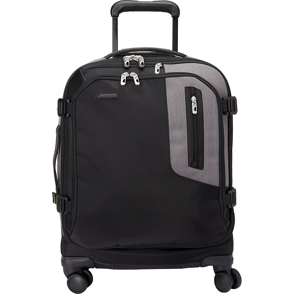 Briggs & Riley BRX Explore International Wide-body Spinner Black - Briggs & Riley Kids' Luggage
