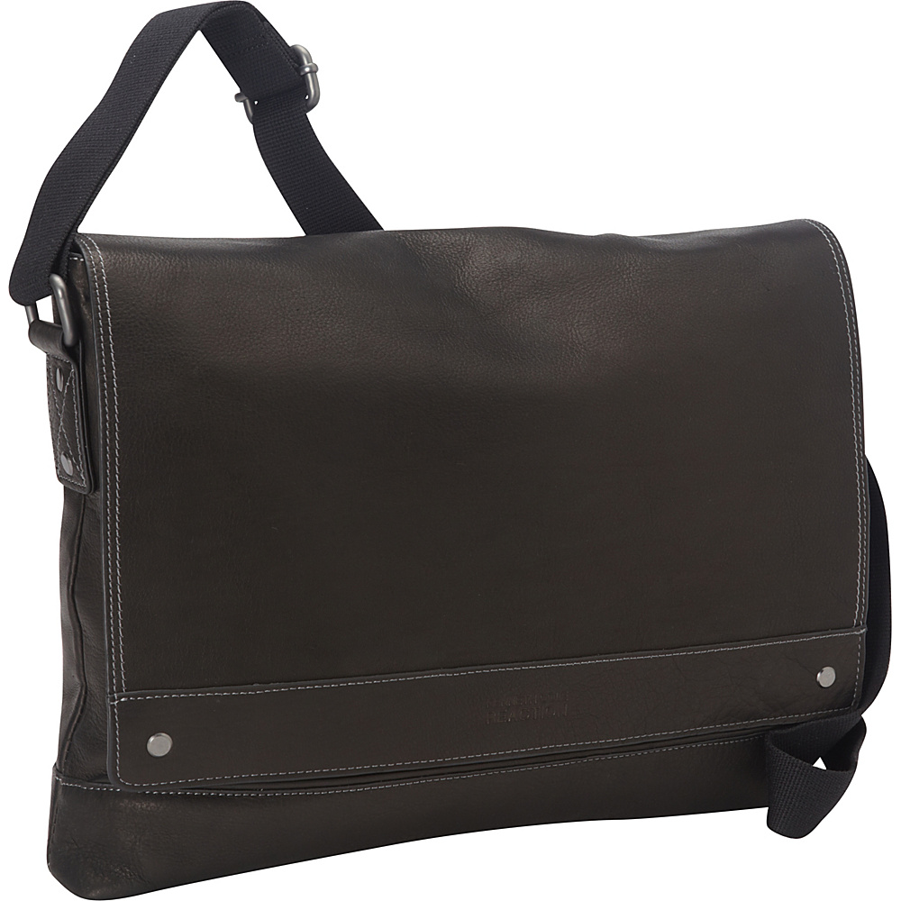 Kenneth Cole Reaction Mess ed the Mark Tablet Messenger Bag Black Kenneth Cole Reaction Messenger Bags