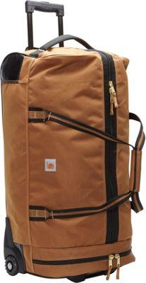 Carhartt Legacy 30 inch Wheeled Gear Bag Carhartt Brown - Carhartt Softside Checked