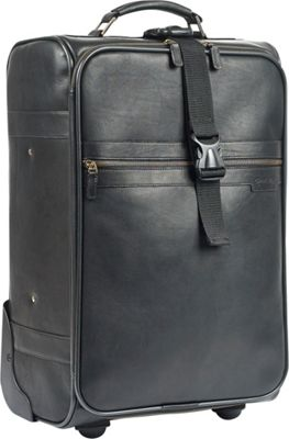 "Claire Chase Robert Myers Classic Trolley 21"" Black - Robert Myers Softside Carry-On"