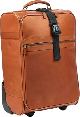 "Claire Chase Robert Myers Classic Trolley 21"" Tan - Robert Myers Softside Carry-On"